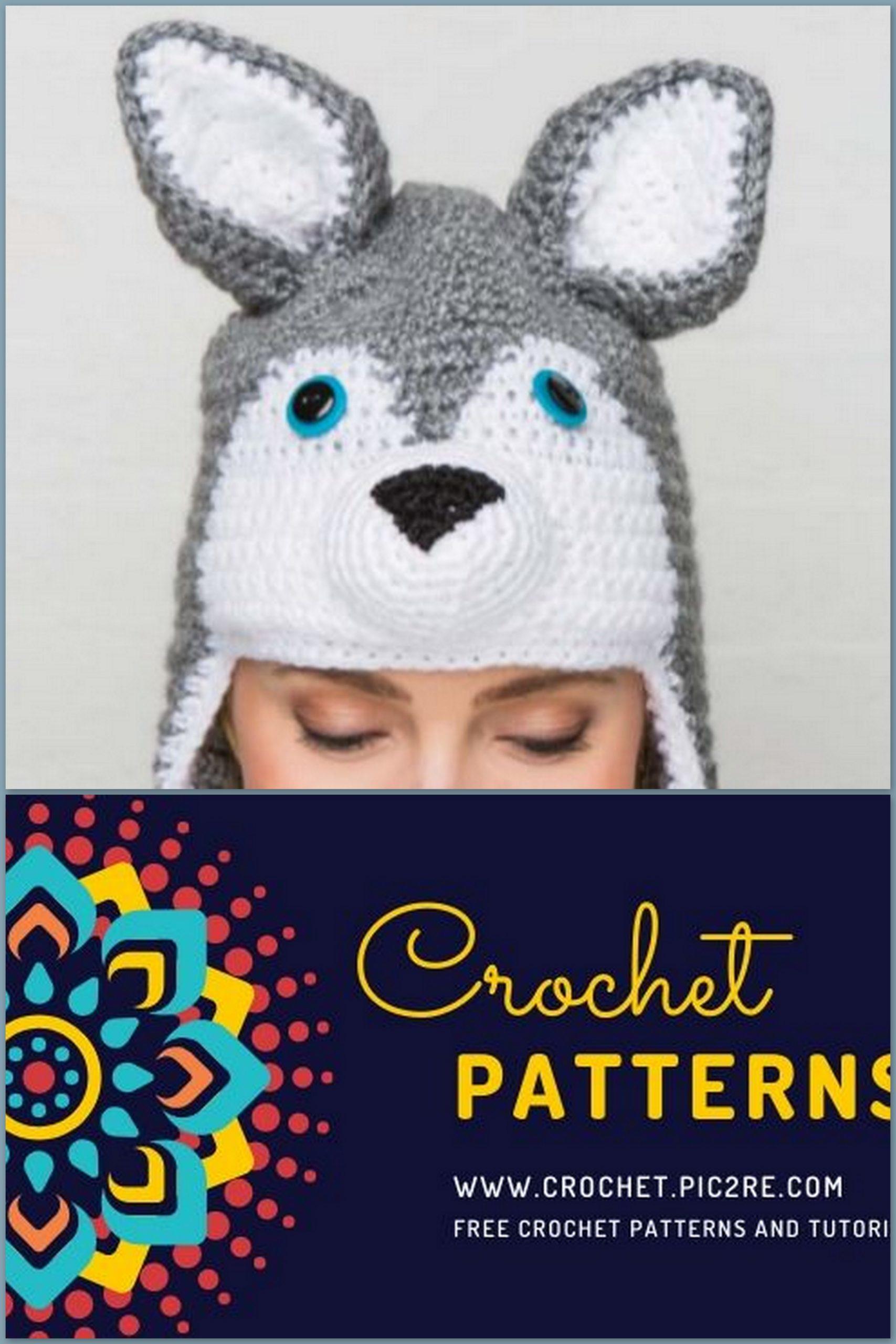 Crochet Small Amigurumi Siberian Husky Dog Part 1 of 2 DIY Video ... | 2560x1707