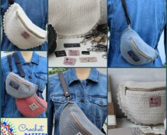Crossbody/Belt bag Free Crochet Pattern