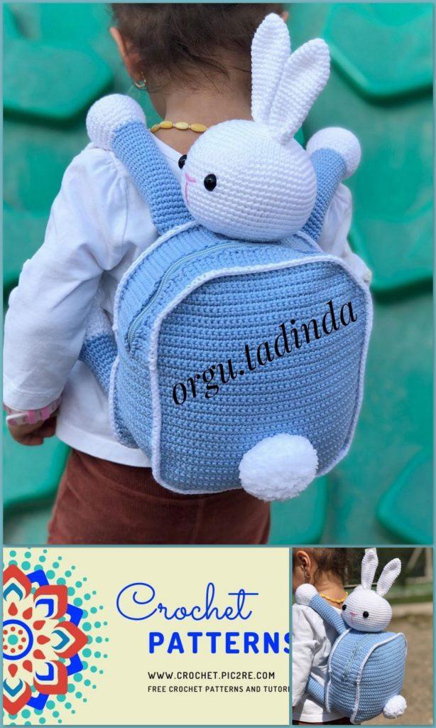 Crochet Bunny Backpack | Tutorial DIY - YouTube | 1024x614