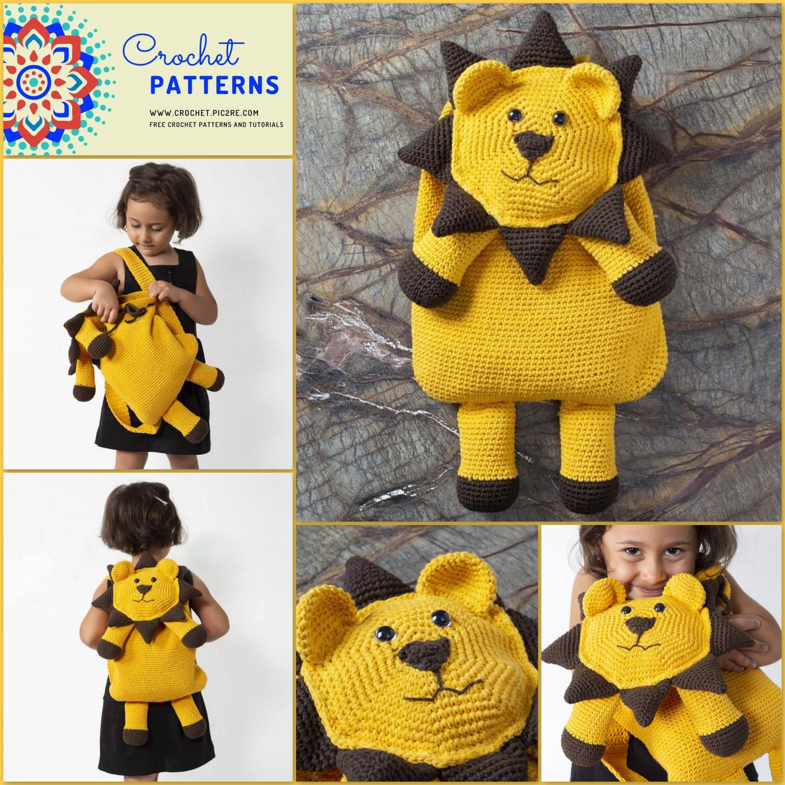 10 Free Crochet Lion Amigurumi Patterns - 99 Crochet | 2560x2560
